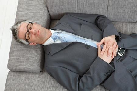 businessman - sleeping meditation